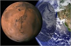 Mars and Earth Scales