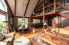 There are great views from anywhere in this post and beam home.