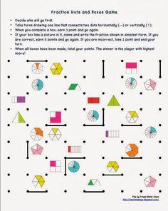 Játékos tanulás és kreativitás: Játékok feladatlapok a törtek gyakorlásához