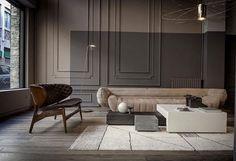 Baxter sofa Tectile by Vincenzo di Cotiis. Baxter Sofa, Baxter Furniture, Interior Desing, Interior Inspiration, Interior Architecture, Interior Decorating, Classic Interior, Modern Interior, Gray Interior