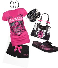 """METAL MULISHA!!"" by lovelifelive25 on Polyvore"