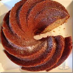 Moist banana bundt cake. Great for afternoon tea.