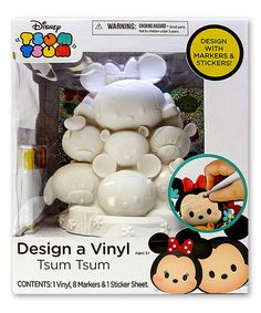 Another great find on #zulily! Tsum Tsum Deluxe Design-A-Vinyl Figurine by Tsum Tsum #zulilyfinds