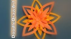 Craft:  How to Make Beautiful Paper Flowers - Step by Step