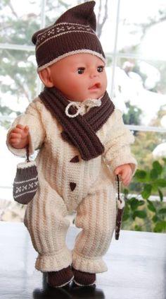 Baby born | baby born dukkeklær | baby born strikkeoppskrift