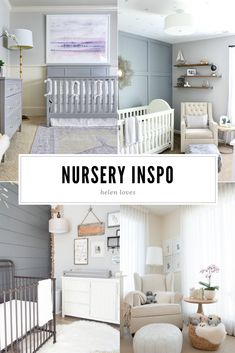 Sharing all the inspiration for our neutral girl nursery // Helen Loves Girl Nursery, Everyday Fashion, Cribs, Projects To Try, Neutral, Baby Boy, Emerson, House, Inspiration