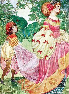 "Ethel Larcombe   ILLUSTRATION   ""The Princess"""
