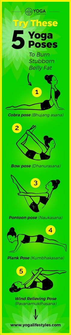 Try These 5 Yoga Poses To Burn Stubborn Belly Fat                                                                                                                                                                                 More