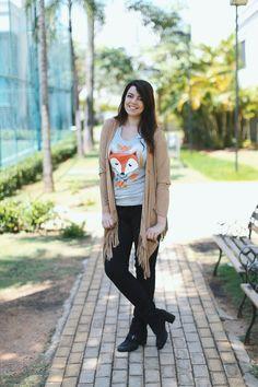Look do dia: Camiseta de raposa