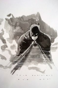 Batman (after David Mazzucchelli)  (Artist: David Aja)
