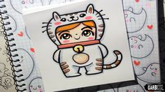 Cat Boy - How To Draw Chibis and Kawaii Characters by Garbi KW