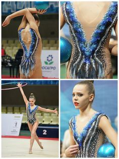 Polina Shmatko (Russia), hoop and ball 2017