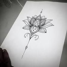 """Képtalálat a következőre: """"lotus sternum tattoo"""""""