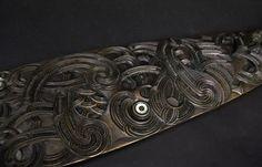 Hoe - Whaka-Kōhatu | NZ Māori Arts and Crafts Polynesian People, Maori Patterns, Maori Designs, Maori Art, Moka, Armors, Tribal Art, Surface Pattern, Paddle