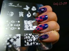 Lesly Stamping Tile - LS-09