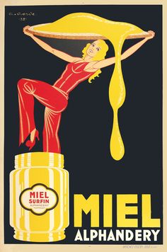 wicked vintage ad!!!!! sweet like honey