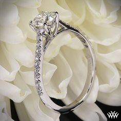 Vatche Melody Diamond Engagement Ring with 0.604ct A CUT ABOVE