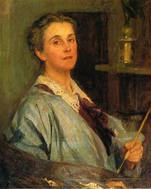 Lydia Field Emmet (January 23, 1866 - August 16, 1952) was an American artist best known for her work as a portraitist. She studied with, among others, prominent artists such as William Merritt Chase, Henry Siddons Mowbray, Kenyon Cox and Tony Robert-Fleury.[1] Emmet exhibited widely during her career, and her paintings can now be found hanging in the White House, and many prestigious art galleries, inclu