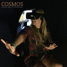 "Check out the ""next big thing"" in our Cosmos #VirtualReality Experience. #Nashville #EscapeExpNash"