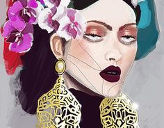 """Check out new work on my @Behance portfolio: """"Frida"""" http://be.net/gallery/32506441/Frida"""