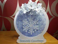 Tattered Lace Snow Globe