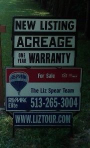 If you see this sign, we work for the seller.