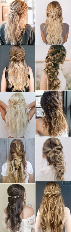 trending half up half down wedding hairstyles for 2018 #bridalfashion #weddinghairstyle #updohairstyle #bridalhairstyles #weddingideas