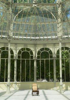 Madrid - Parque del Retiro - Palacio de Cristal