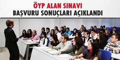 2015 ÖYP Alan Sınavı Başvuruları Sonuçlandı