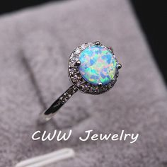Find More Rings Information about Super Luxury White Gold Plated Round Cubic Zircon Diamond Pave Women Engagement Rings With Synthetic Gemstones R060,High Quality Rings from China-winwin jewelry on Aliexpress.com