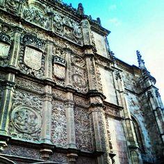 Salamanca, fachada de la universidad.