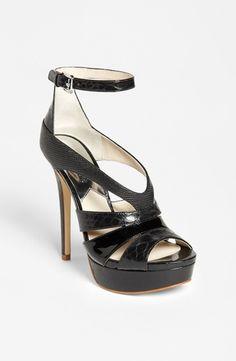 MICHAEL Michael Kors 'Leighton' Sandal Black 11 M from Nordstrom on shop.CatalogSpree.com, your personal digital mall.