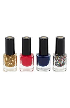 kate spade new york 'sprinkles' mini nail polish set | Nordstrom