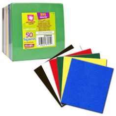 Creative Hands by Fibre-Craft Glitter Foam Sheets 5-1/2-Inch by 8-1 ...