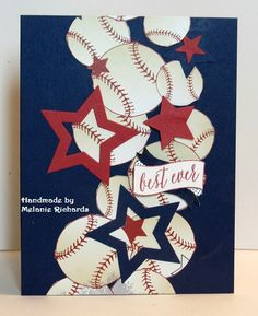 Make your own baseball cards Cricut Birthday Cards, Birthday Cards For Boys, Masculine Birthday Cards, Bday Cards, Handmade Birthday Cards, Masculine Cards, Greeting Cards Handmade, Cricut Cards, Teen Birthday