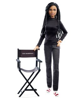 Ava DuVernay Barbie #BlackGirlMagic This is awesome! Too bad I'm too old for dolls.