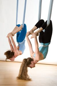 fun aerial yoga classes will help you to gain flexibility, decompress the spine in addition to receiving a total body workout