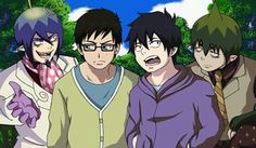 Brothers <-- lol, this is funny | Rin and Yukio, Mephisto and Amaimon | Ao no Exorcist