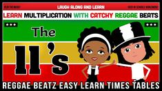 11 Times Table Song (Reggae Beatz) Learn to Fun & Catchy Songs! 11 Times Table, Multiplication, Reggae, How To Memorize Things, Album, Songs, Learning, Fun, Studying