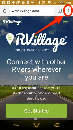 RVillage is a very simple (and free) tool for RV'ers to connect with each other - not just online, but right in the RV parks they are currently staying in. With RVillage, an RV park full of strangers becomes a village full of friends.