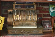 Old Cash Register in Granville, MA by johncudw2399, via Flickr