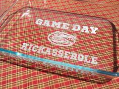 Gameday Kickasserole for the #Gators and other teams available too! Good for a laugh when all the food is eaten!