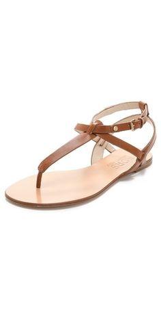 KORS Michael Kors Janaya Flat Sandals | SHOPBOP