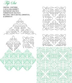 Carla Barrett design available through Digitech Patterns.