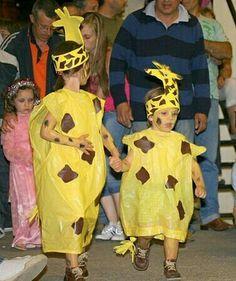 Disfraz girafa