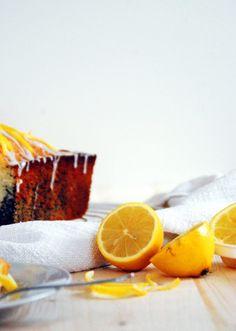 Mohn Zitronenkuchen - Backen, Schürzenfräulein, Rezept Poppy, Baking, Rezepte