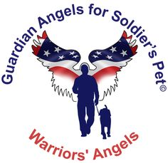 Guardian Angels for Soldier's Pet© is a national all-volunteer 501(c)3 Military and Veteran Support Organization assisting active duty service members, wounded warriors, veterans, and their beloved companion animals or assistance service canines through various assistance programs.  These programs include: the Military and Veteran Pet Foster Home Program, Military Pet Assistance fund, and the Warriors' Angels Program.