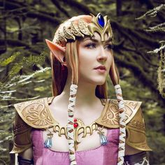 Ideal costume Zelda ears for a fabulous Zelda or Link cosplay. These elf ears would also work as a Divinity or skyrim dark elf cosplay, or the perfect accessory to your LARP elf costume. Link Cosplay, Elf Cosplay, Elf Costume, Cosplay Ideas, Halloween Costumes, Elf Makeup, Fairy Makeup, Makeup Stuff, Makeup Art