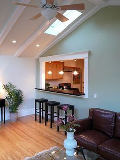 Serving Hatch Home Design Ideas, Renovations & Photos