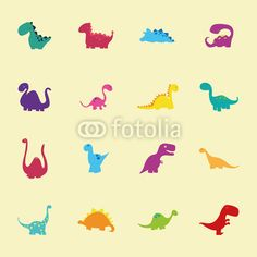Vektor: Dinosaurs